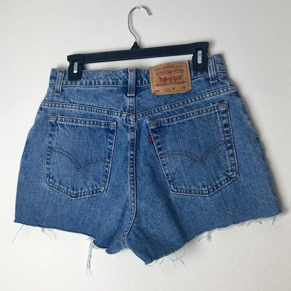 Levi's Pants - Levi's 551 High Waisted Shorts